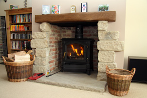 Case Study 1 - Wood Burning Stove & Fireplace